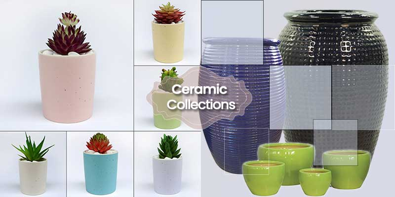 Ceramic Planters Collection ©MNC