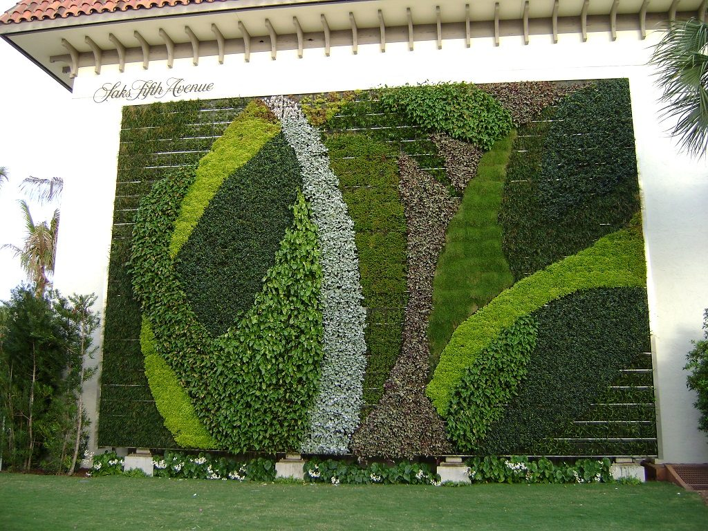 Vertical Garden Services Delhi Gurgaon Noida All Over India