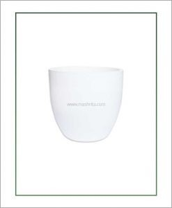 Fiber-Planter-White-12-Inch-(Cup-Shaped)