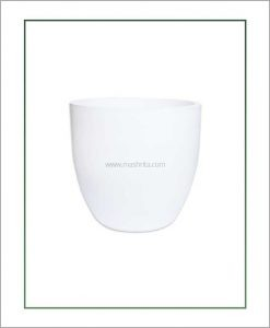 Fiber-Planter-White-14-Inch-(Cup-Shaped)