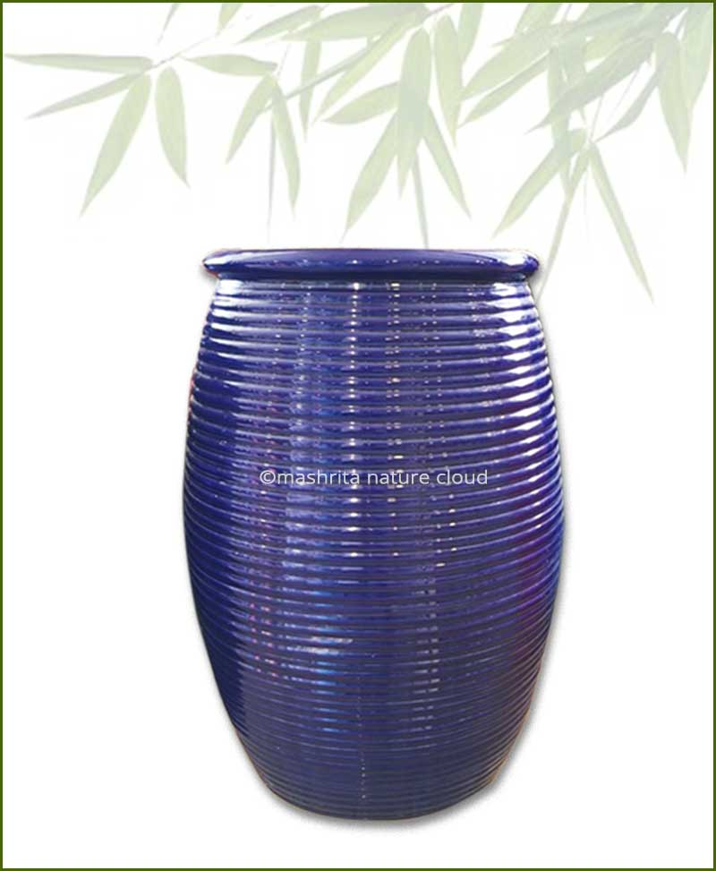 Blue-Large-Cermaic-Pot