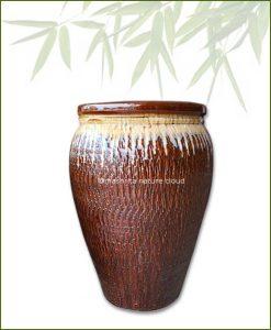 Brown-Large-Cermaic-Pot