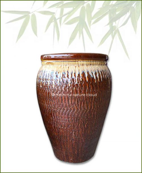 Brown-Large-Cermaic-Pot