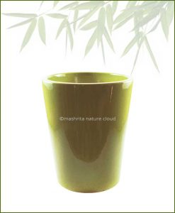 Ceramic-Glazed-Planter-Olive-(12-Inch)