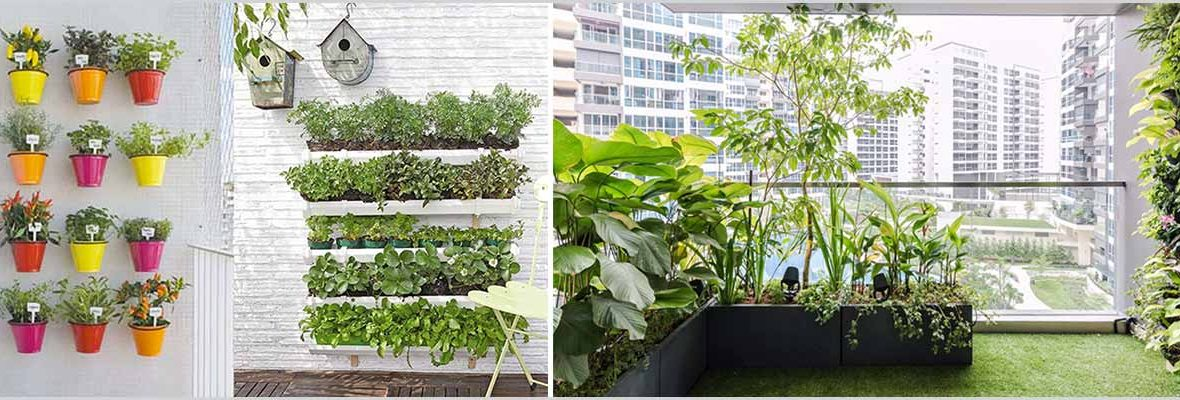 Planning Balcony Garden - Balcony Garden Design Considerations