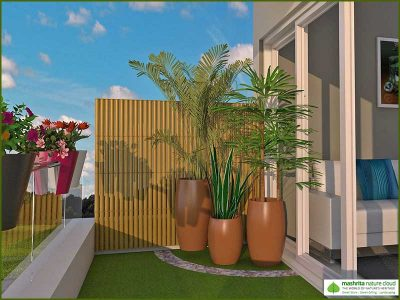 Balcony Garden Three Side Open - Air Purifier Series