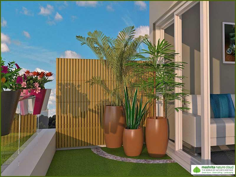 Balcony Garden Three Side Open - Air Purifier Series