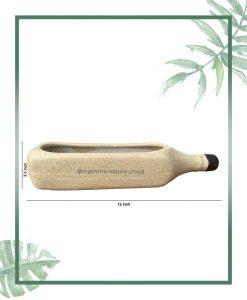 Ceramic Bottle - Bonsai Tray Planter - Bottle Matt 12 inch