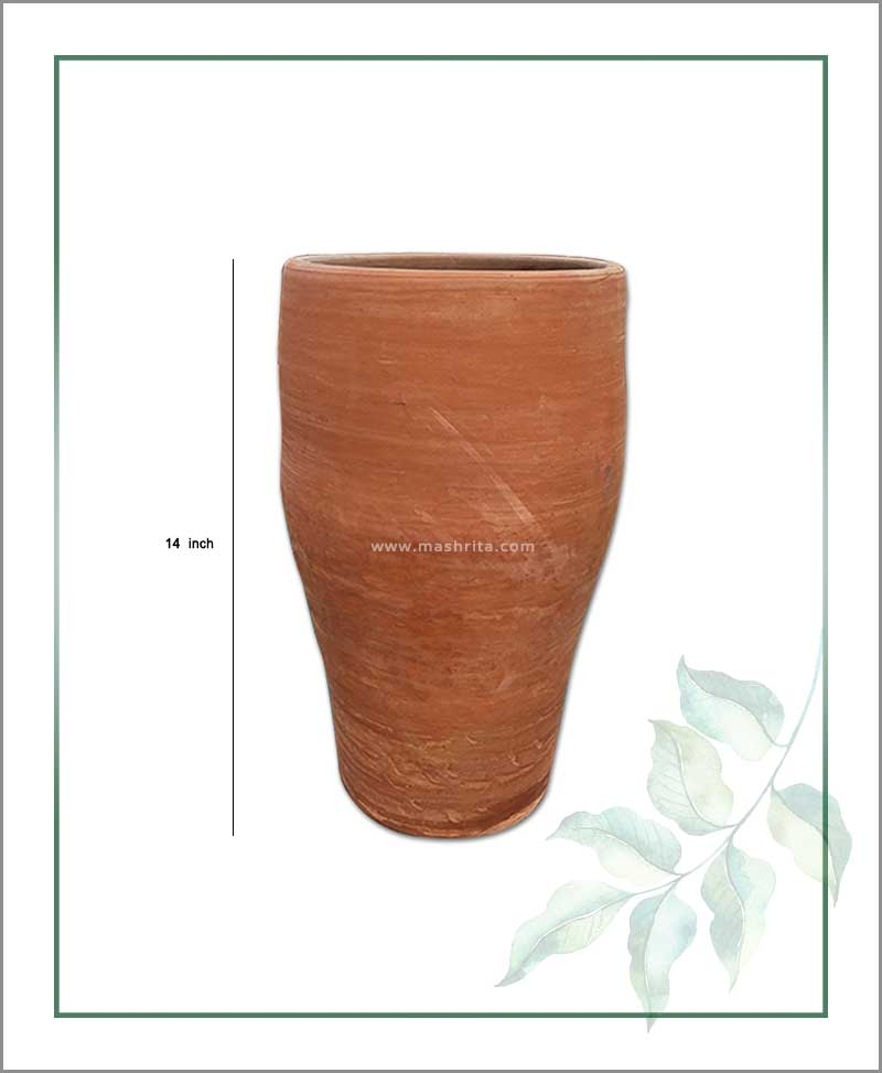 Terracotta 14 inch Elongated Shape Planter