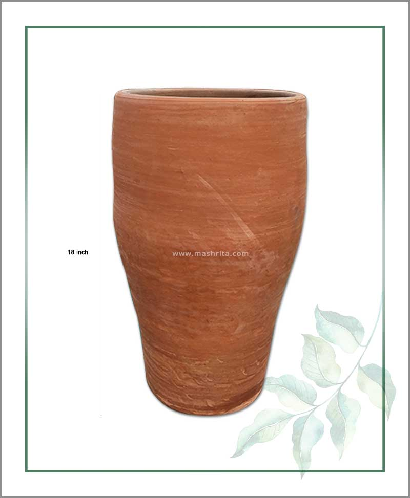 Terracotta 18 inch Elongated Shape Planter