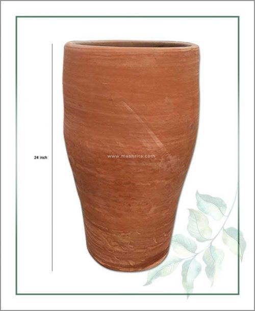 Terracotta 24 inch Elongated Shape Planter