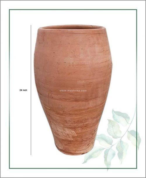 Buy Terracotta 24 inch Oval Shape Planter