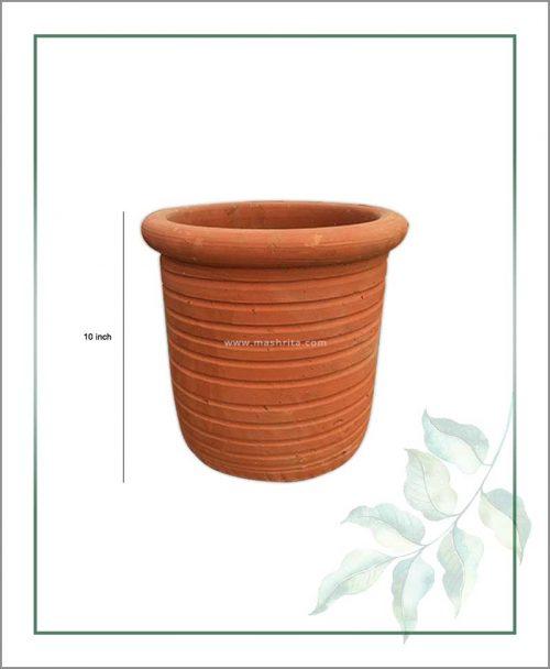 Terracotta Round Shape 10 inch Planter