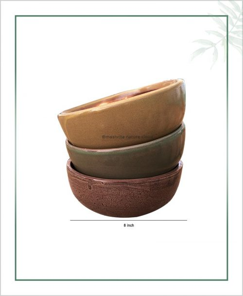 Set-of-Three-Ceramic-Bonsai-Bowl-Tray-Planter-–-Glazed-8-inch