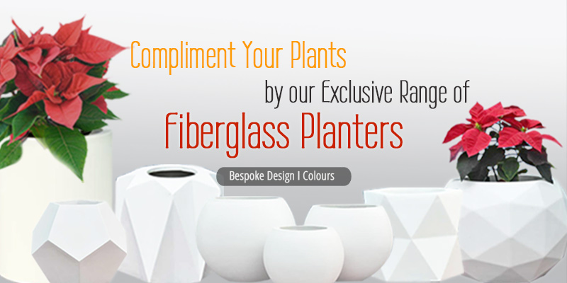 Shop Fiber Glass Planters India