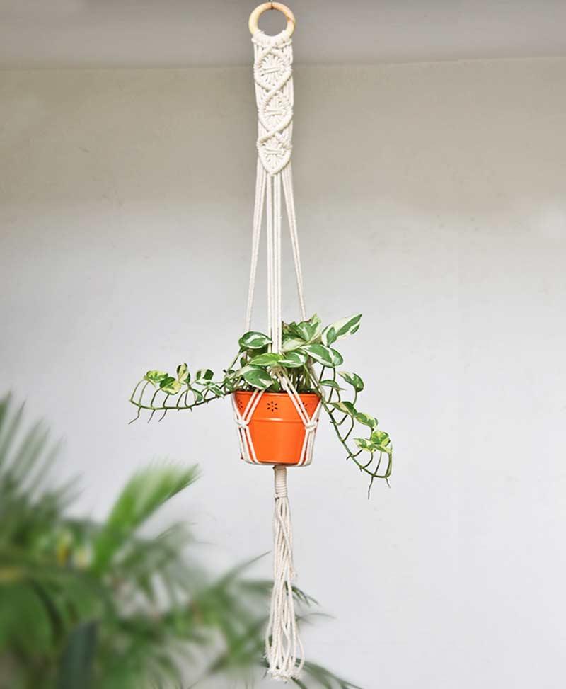 Macrame Plant Hanger Type 4