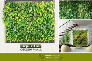Air Purifier Green Wall Small