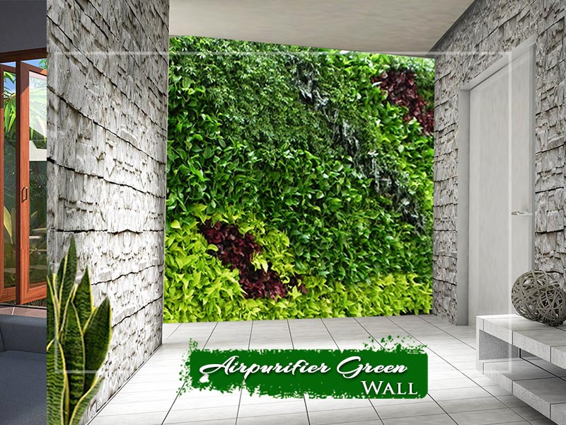 Airpurifier Green wall