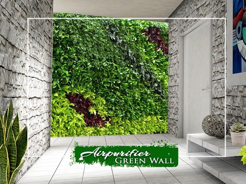 Airpurifier Green wall