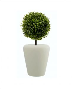 Apple Shape Fiber Planter 24 inch