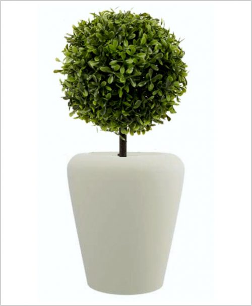 Apple Shape Fiber Planter 36 inch