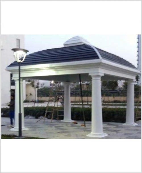 Belvedere Gazebo - Square FRP Garden Gazebo