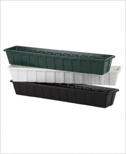 Buy Plastic Compact Rectangular Planter