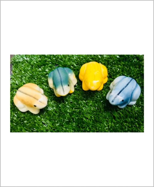 Garden Miniature Frogs (Set of 2 Ceramic Frogs)