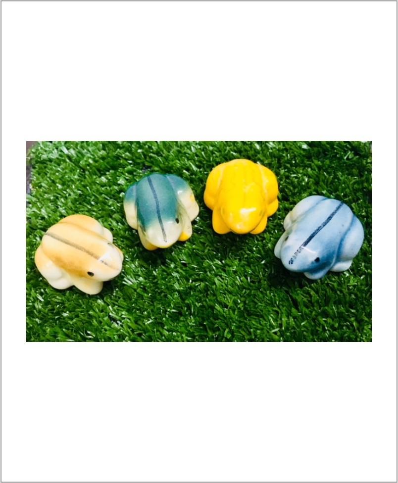 Garden Miniature Frogs (Set of 2 Ceramic Frogs)