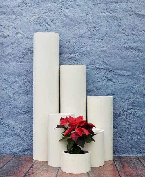 Compact Cylindrical Planters Luxury