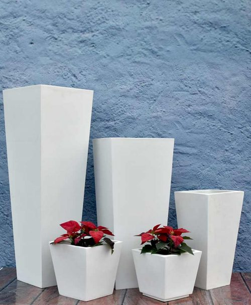 Cluster of Tapered Planters Luxury