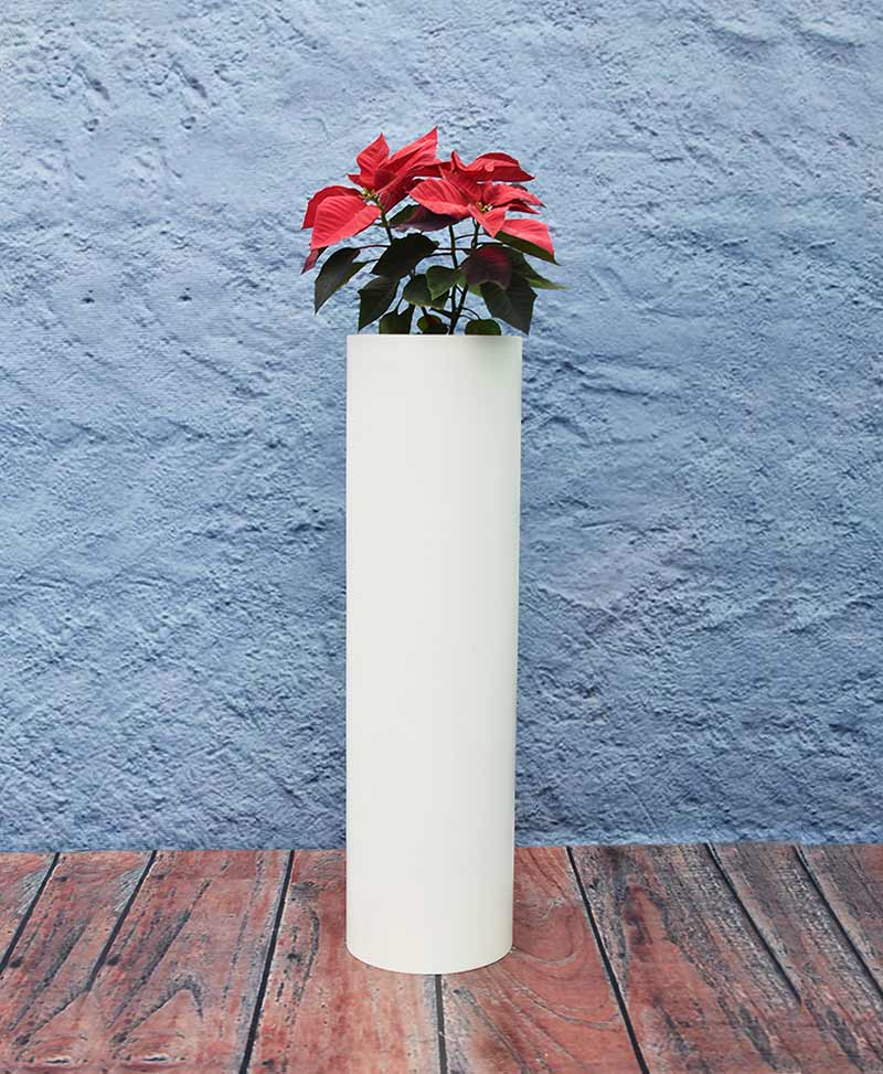 Compact Cylindrical Planter 36 Inch