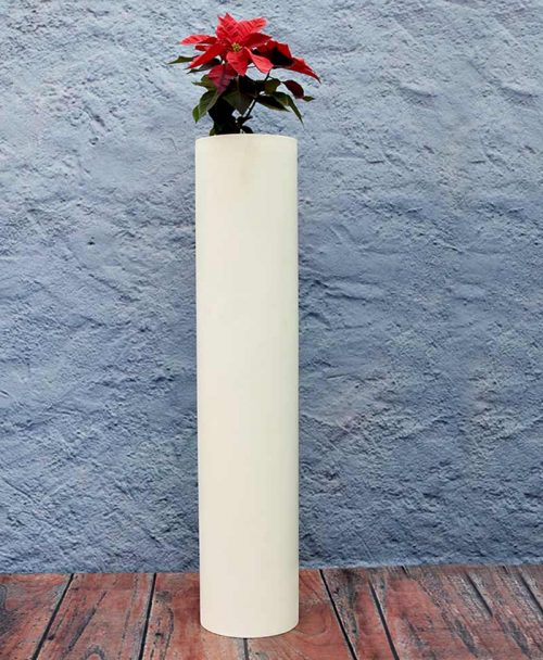 Compact Cylindrical Planter 48 Inch