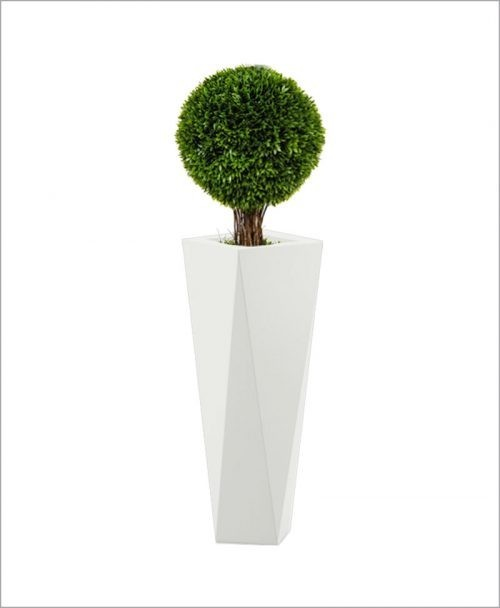 Diamond Shape Fiber Planter 36 inch