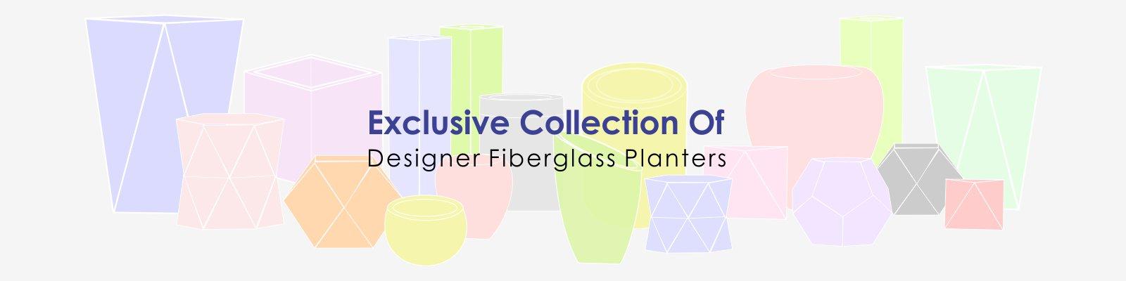 FRP Planters - Fiber Glass Planters - Polystone Planters - Gurgaon, Delhi, Noida, India
