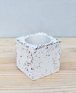 Geometric Concrete Planter Cube 2