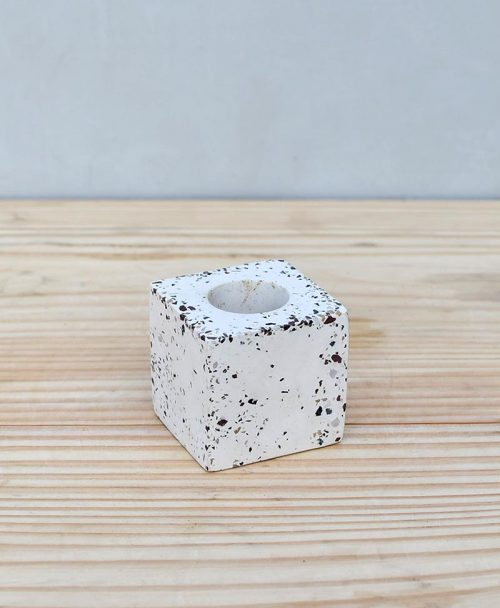 Geometric Concrete Planter Cube Mini 2
