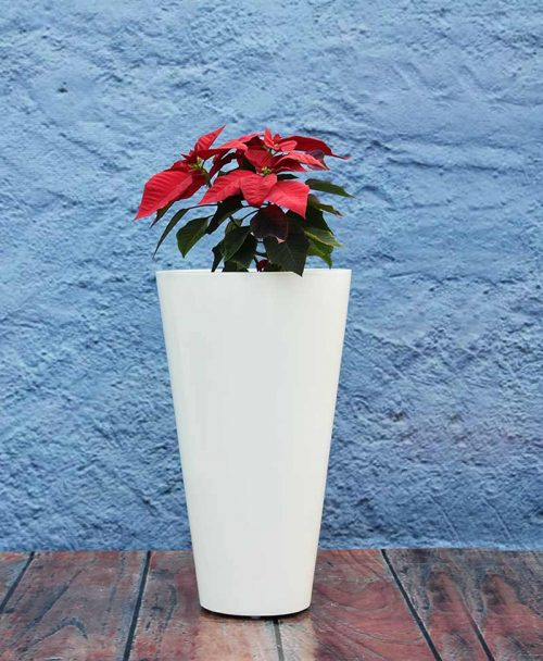 Glass Shape Fiber Planter 24 inch