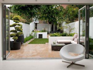 Green Villa Backyard