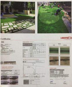Labosport Certified Artificial Lawn Grass