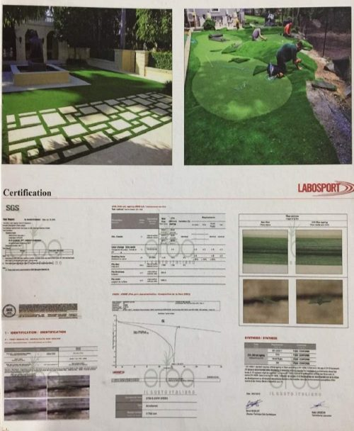 Labosport Certified Artificial Lawn Grass