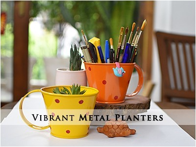 Shop Quality Metal Planters