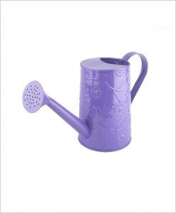 Metal Watering Can 1000ml Purple