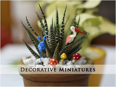 Garden Miniatures Collection