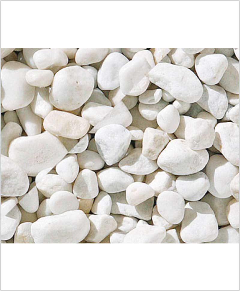 Natural Pebbles White