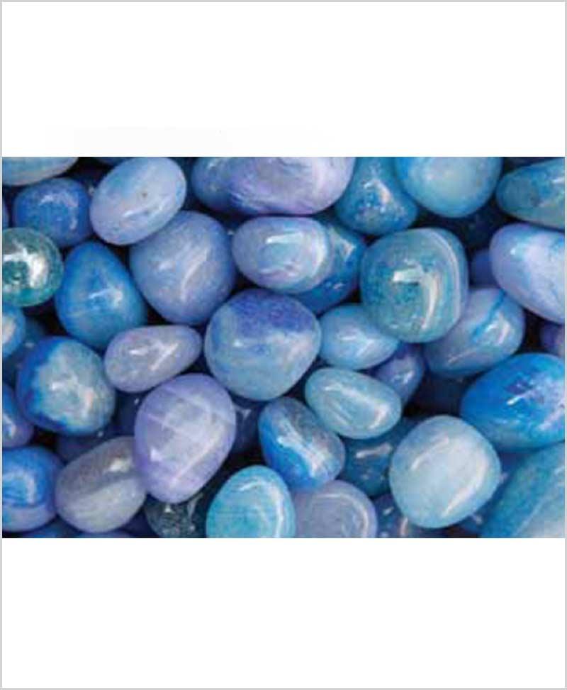 Polished Pebbles  Ink Blue