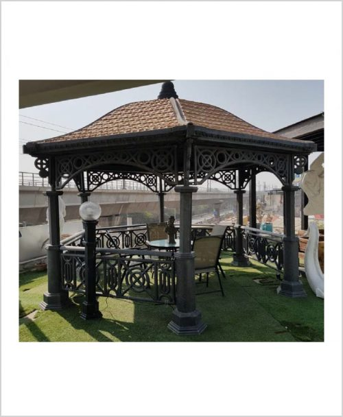 Rafaello Gazebo - Hexagonal FRP Garden Gazebo