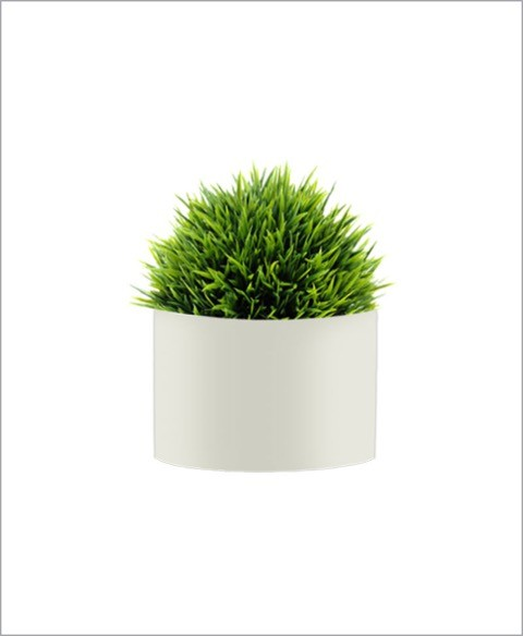 Round Shape Fiber Planter 10 inch