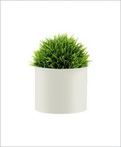 Round Shape Fiber Planter 12 inch