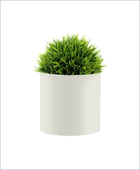 Round Shape Fiber Planter 18 inch